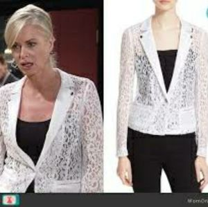 The Kooples lace blazer
